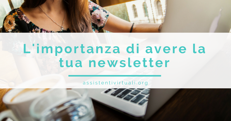 importanza di avere newsletter
